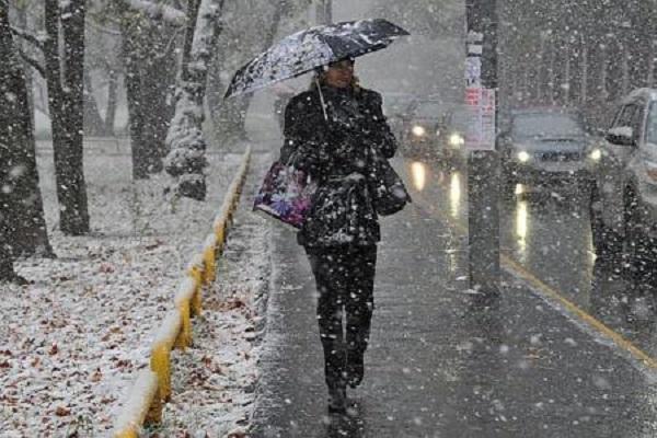 В Україну прийшло перше зимове похолодання