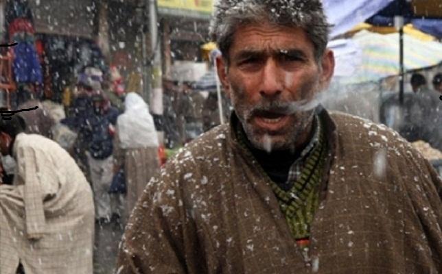 Обильные снегопады в Индии