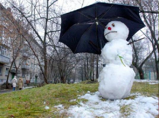 В Україні аномально тепла зима