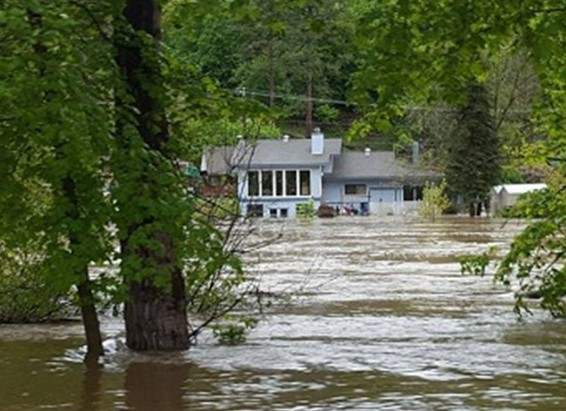 Рекордное наводнение в провинции Британская Колумбия, Канада