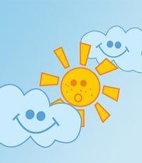 Запорожье  - солнечно, небольшая облачность без осадков