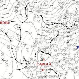 Циклон Карола став причиною погіршення погоди в Україні