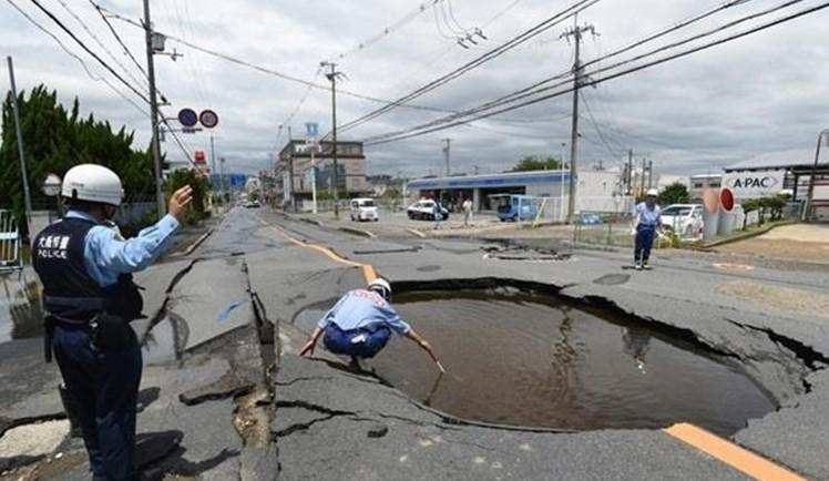 Cмертельное землетрясение в Японии стало причиной гибели 5 человек