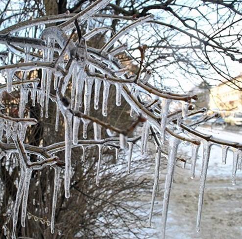 В Украине потеплело