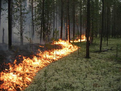 повышенная пожароопасность