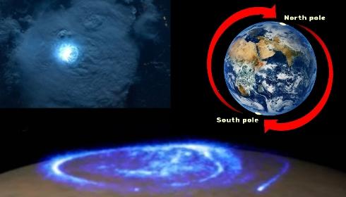 Гроза на северном полюсе.