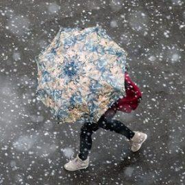 В среду в Украине пройдет мокрый снег с дождем