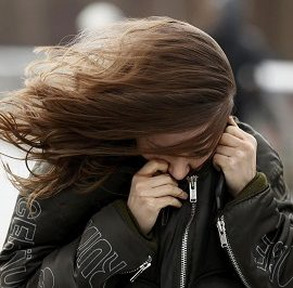 В Киеве и Киевской области объявлено штормовое предупреждение