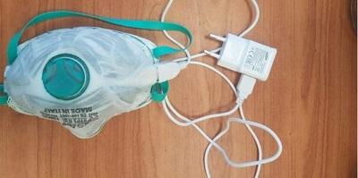 электрическая медицинская маска
