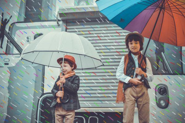 Как укрыться от дождя и взглядов