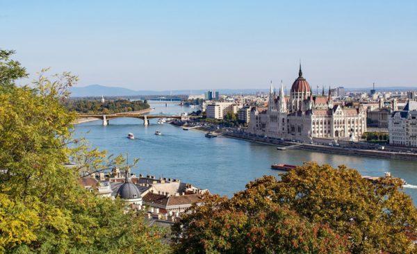 Будапешт, Дунай, Венгрия