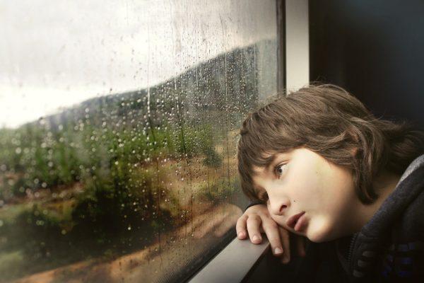 Осенний дождь за окном