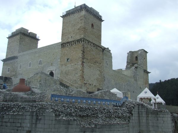 Крепость в Мишкольце, Венгрия