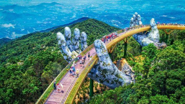Золотой мост на острове Фукуок, Вьетнам